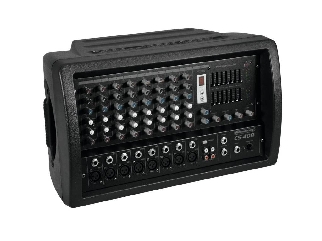 OMNITRONIC OMNITRONIC CS-408 Powered mixer