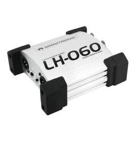 OMNITRONIC OMNITRONIC LH-060 PRO Passive dual DI box