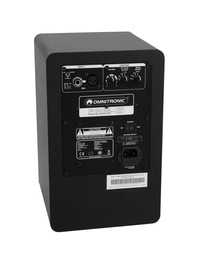 OMNITRONIC OMNITRONIC PNM-5 Nearfield monitor