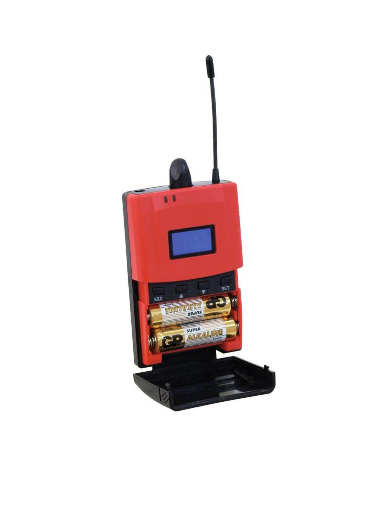 OMNITRONIC OMNITRONIC STR-500 Bodypack Receiver IEM