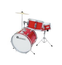 DIMAVERY DIMAVERY JDS-203 Kids Drum Set, red
