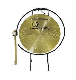 DIMAVERY DIMAVERY Gong, 25cm with stand/mallet