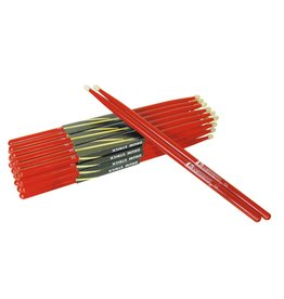 DIMAVERY DIMAVERY DDS-5A Drumsticks, maple, red