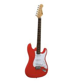 DIMAVERY DIMAVERY ST-203 E-Guitar, red