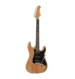 DIMAVERY DIMAVERY ST-303 E-Guitar, amber