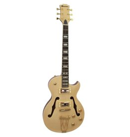 DIMAVERY DIMAVERY LP-600 E-Guitar, nature maple