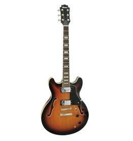DIMAVERY DIMAVERY SA-610 Jazz Guitar, sunburst