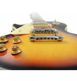 DIMAVERY DIMAVERY LP-700L E-Guitar, LH, sunburst