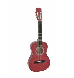 DIMAVERY DIMAVERY AC-303 Classic Guitar 1/2, red