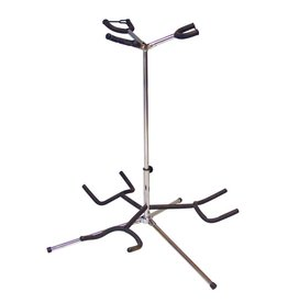 DIMAVERY DIMAVERY Guitar stand 3-fold sil