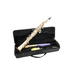 DIMAVERY DIMAVERY SP-10 Bb Soprano Saxophone, gold