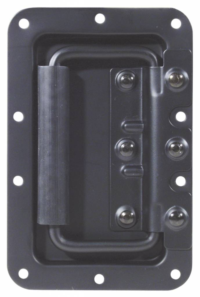 ACCESSORY Hinged case handle, black