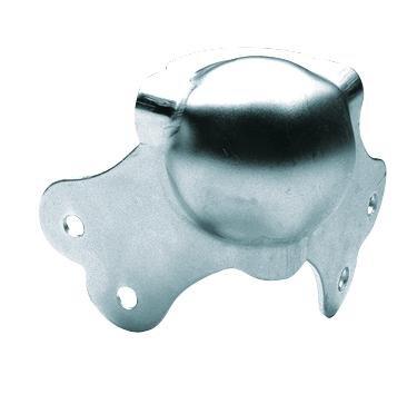 ACCESSORY Steel ball corner 2 legs 64mm
