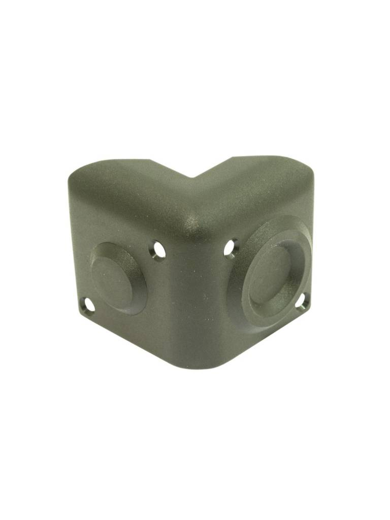 ACCESSORY Plastic corner, 50mm legs, stackable