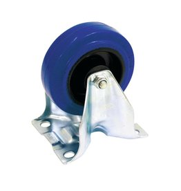 ACCESSORY Fixed castor blue wheelsize:100mm