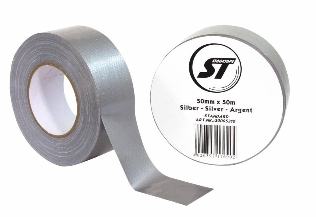 ACCESSORY Gaffa Tape Standard 50mm x 50m silver