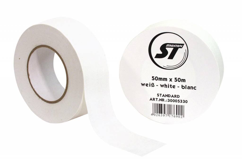 ACCESSORY Gaffa Tape Standard 50mm x 50m white