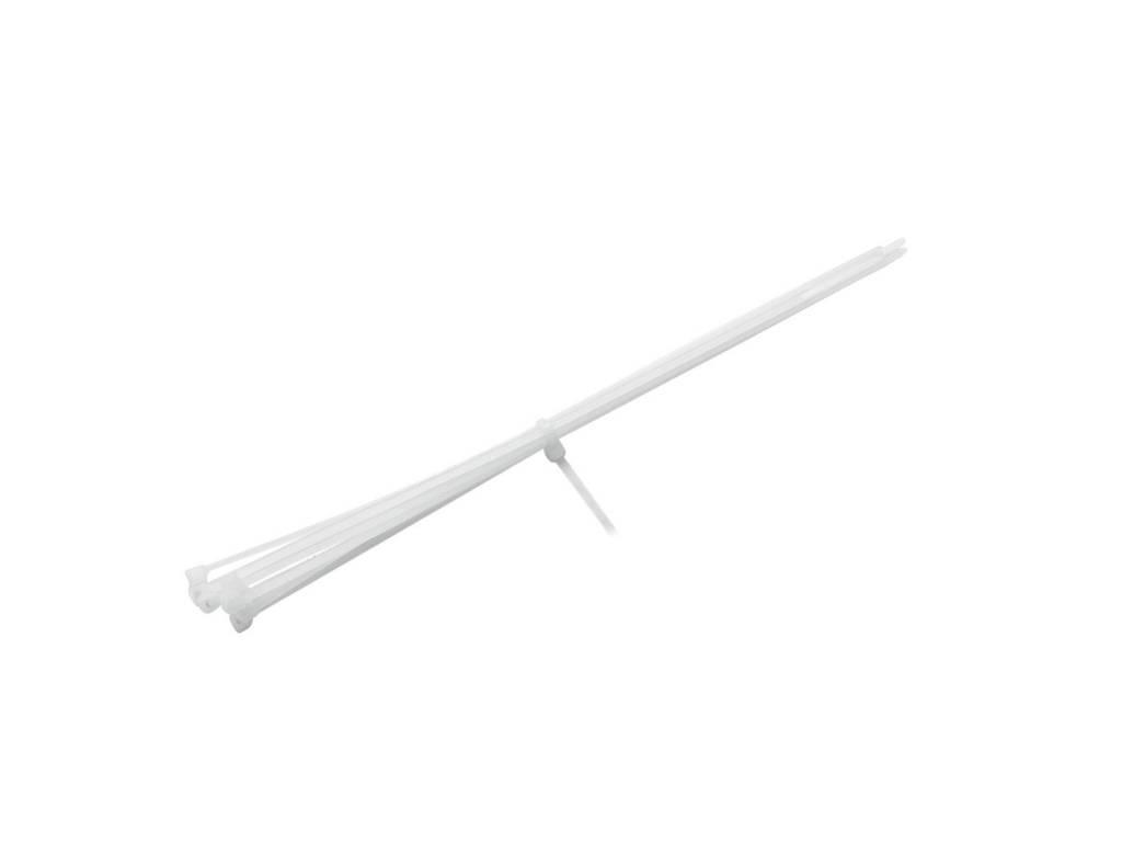 ACCESSORY Cable tie 300x2.9mm white 100x