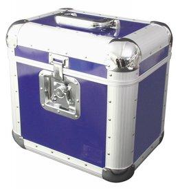 ROADINGER ROADINGER Record case ALU 75/25, rounded, blue