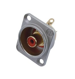 NEUTRIK NEUTRIK RCA mounting socket rd NF2D2