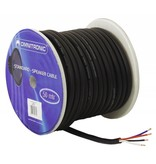 ACCESSORY Speaker cable 4x4 50m bk