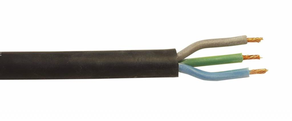 ACCESSORY Power cable 3x1.5 100m bk silicone H05SS