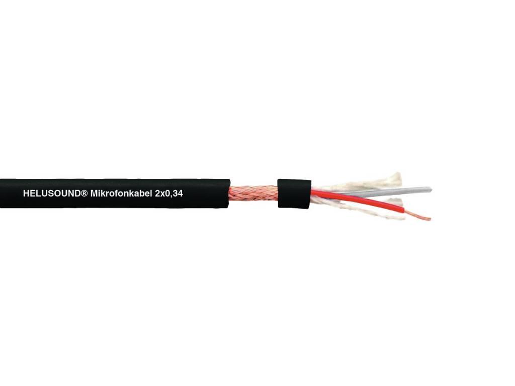 ACCESSORY DMX cable 2x0.34 100m bk