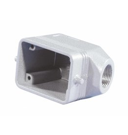 ILME ILME Socket casing for 6-pin, PG13,5, angle
