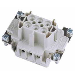 ILME ILME Socket insert 6-pin 16A, screw terminal