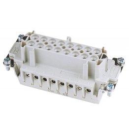 ILME ILME Socket inserts 16-pin 16A,screw terminal
