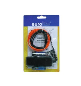 EUROLITE EUROLITE EL wire 2mm, 2m, red