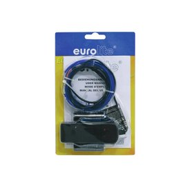 EUROLITE EUROLITE EL wire 2mm, 2m, blue