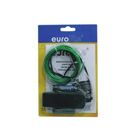 EUROLITE EUROLITE EL wire 2mm, 2m, green