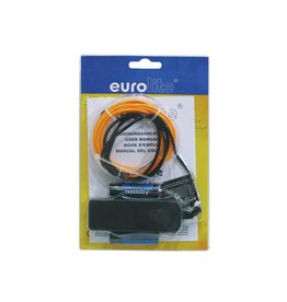 EUROLITE EUROLITE EL wire 2mm, 2m, orange