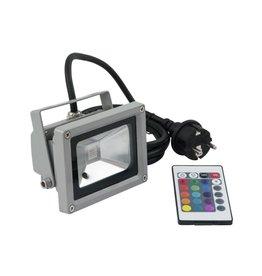EUROLITE EUROLITE LED IP FL-10 COB RGB 120 RC