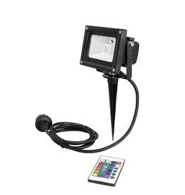 EUROLITE EUROLITE LED IP FL-10 COB RGB IR + stake
