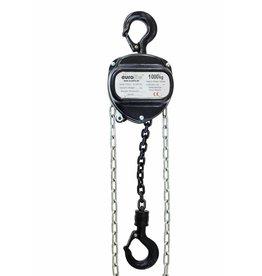 EUROLITE EUROLITE Chain hoist 6M/1.0T black