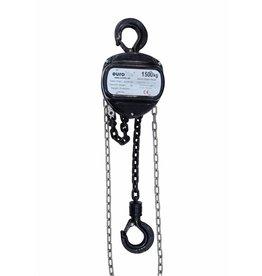 EUROLITE EUROLITE Chain hoist 10M/1.5T black
