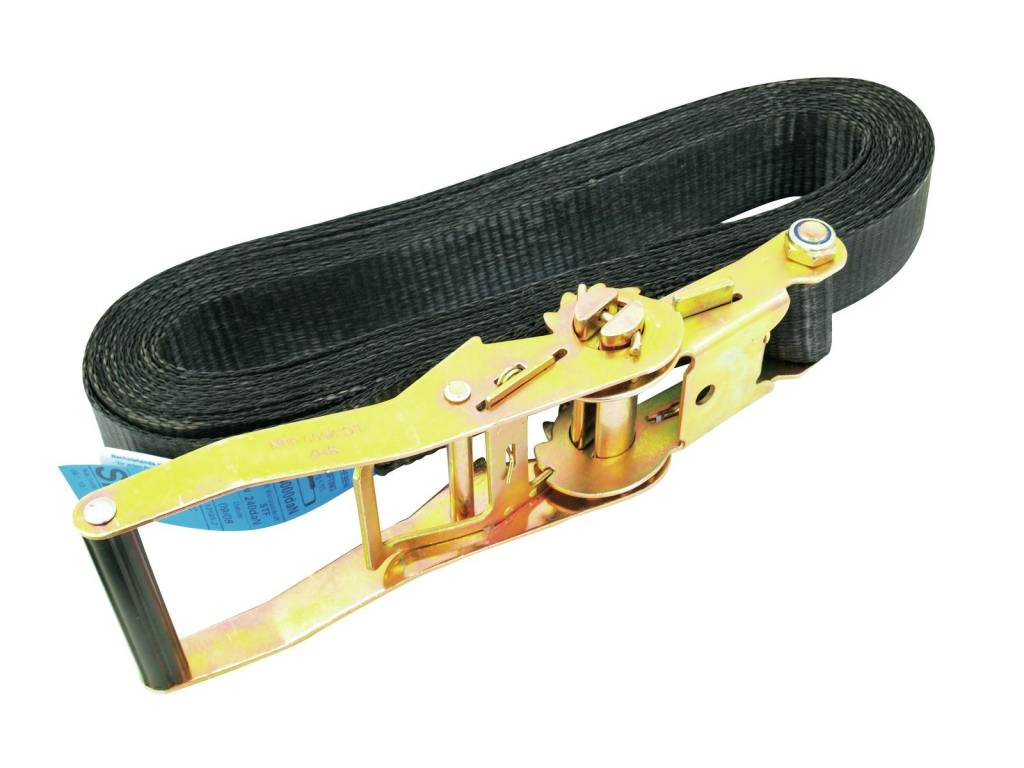 SHZ SHZ Clamping belt S800 ratchet 8m/50mm black