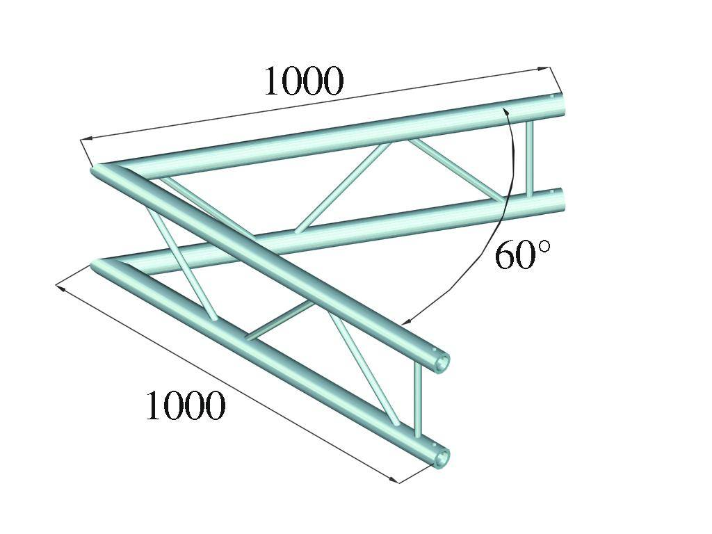ALUTRUSS ALUTRUSS BILOCK BQ2-PAC20V 2-way corner 60