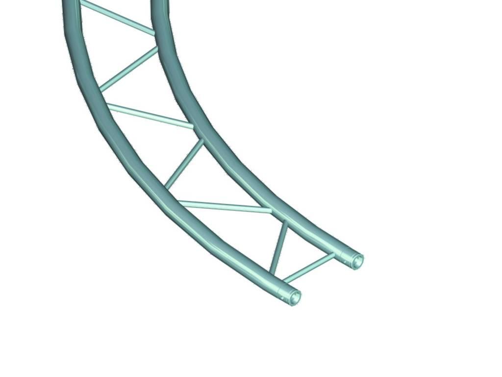 ALUTRUSS ALUTRUSS BILOCK circle d=2m (inside) horizontal