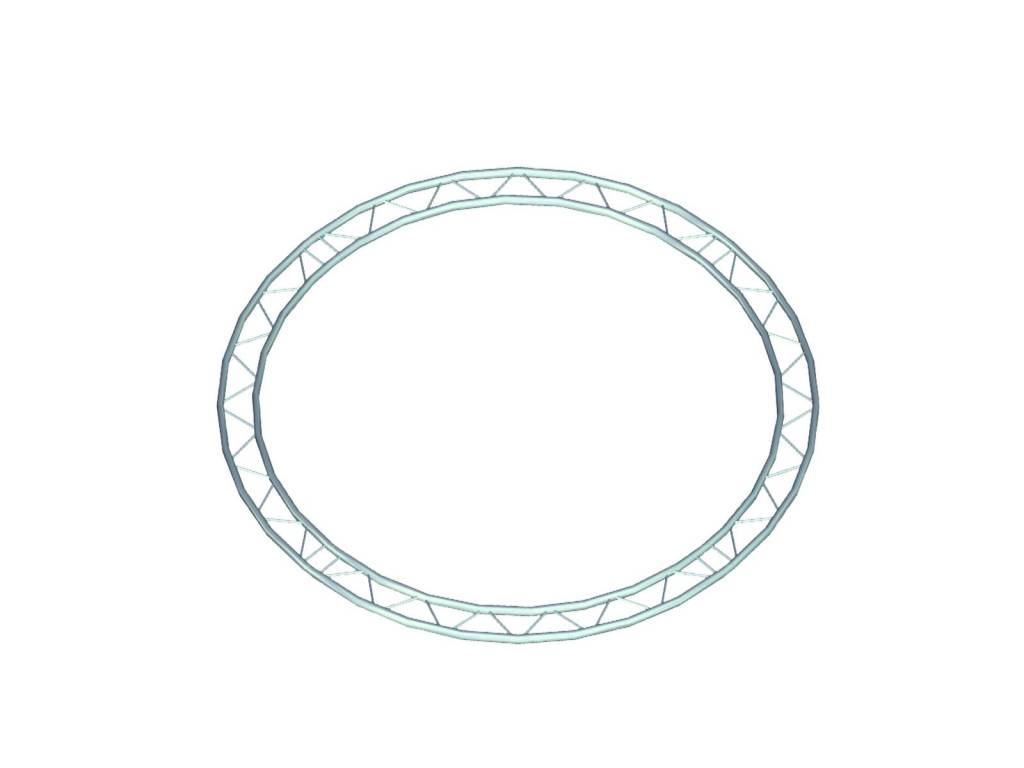 ALUTRUSS ALUTRUSS BILOCK circle d=4m (inside) horizontal