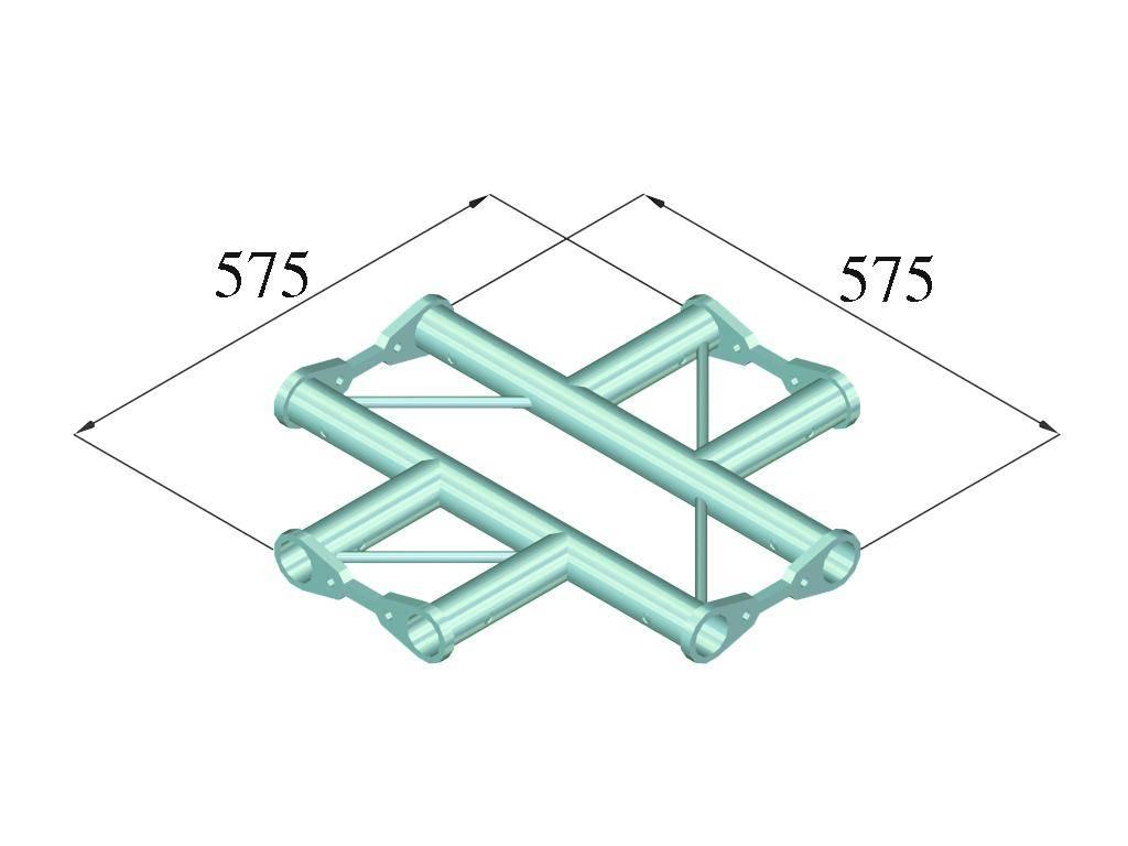 ALUTRUSS ALUTRUSS BISYSTEM PH-41 4-way cross horizontal