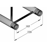 ALUTRUSS ALUTRUSS DECOLOCK DQ2-1000 2-way cross beam