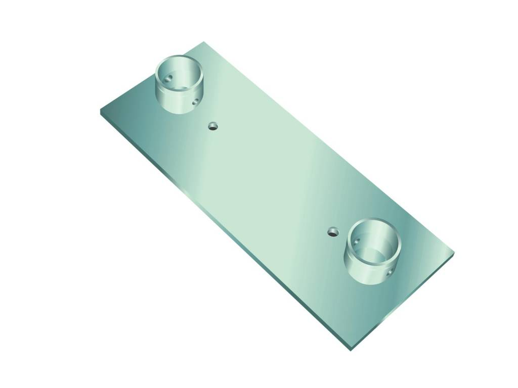 ALUTRUSS ALUTRUSS DECOLOCK DQ2-WP wall mounting plate