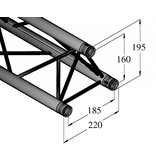 ALUTRUSS ALUTRUSS DECOLOCK DQ3-750 3-way cross beam
