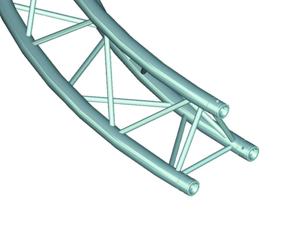 ALUTRUSS ALUTRUSS DECOLOCK DQ-3 circle element d=4m / 90