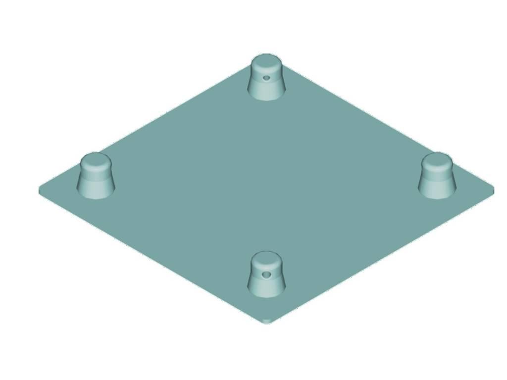 ALUTRUSS ALUTRUSS DECOLOCK DQ4-BPM base plate MALE