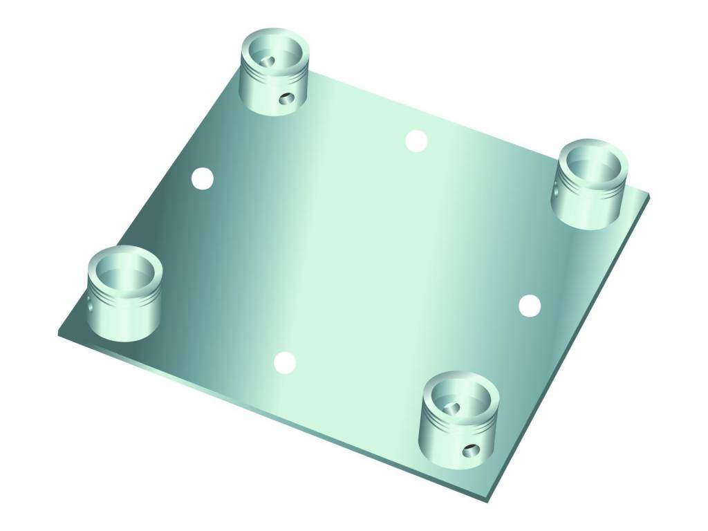 ALUTRUSS ALUTRUSS DECOLOCK DQ4-WP wall mounting plate