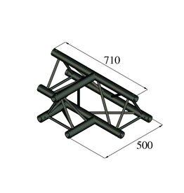 ALUTRUSS ALUTRUSS TRILOCK S-PAT-36 3-way T-piece